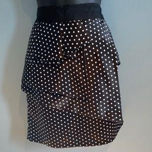 Simon Chang peplum skirt